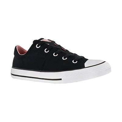 Grls CTAS Madison blk/pink sneaker