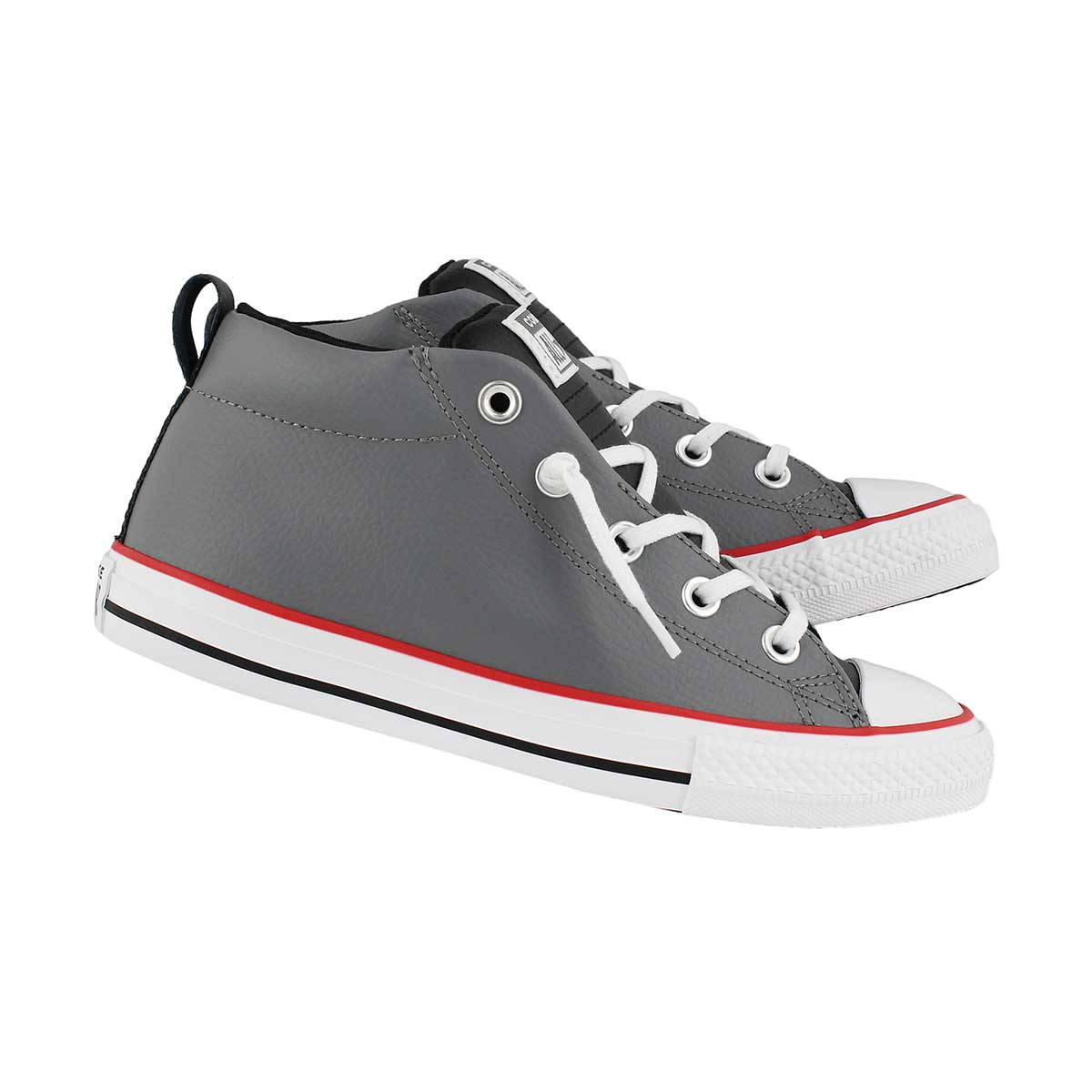 Bys CTAS Street mason grey laceup snkr