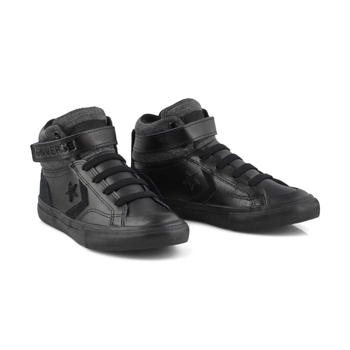 Bys Pro Blaze Strap bk/bk hi top sneaker