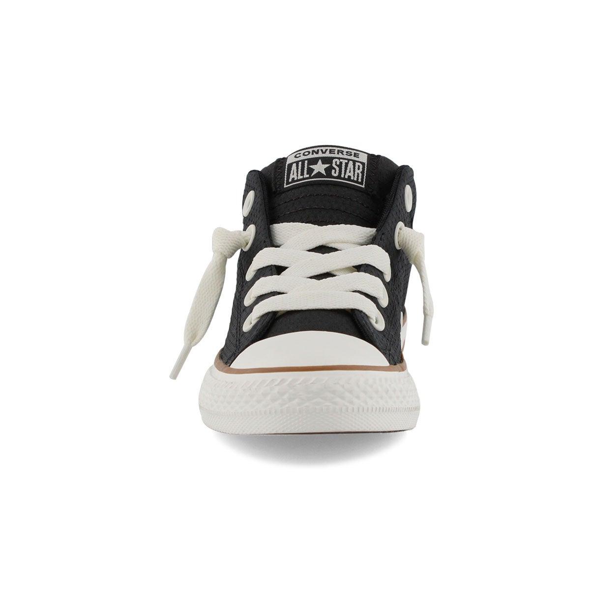 Bys CTAS Street Mid blk/gum sneaker