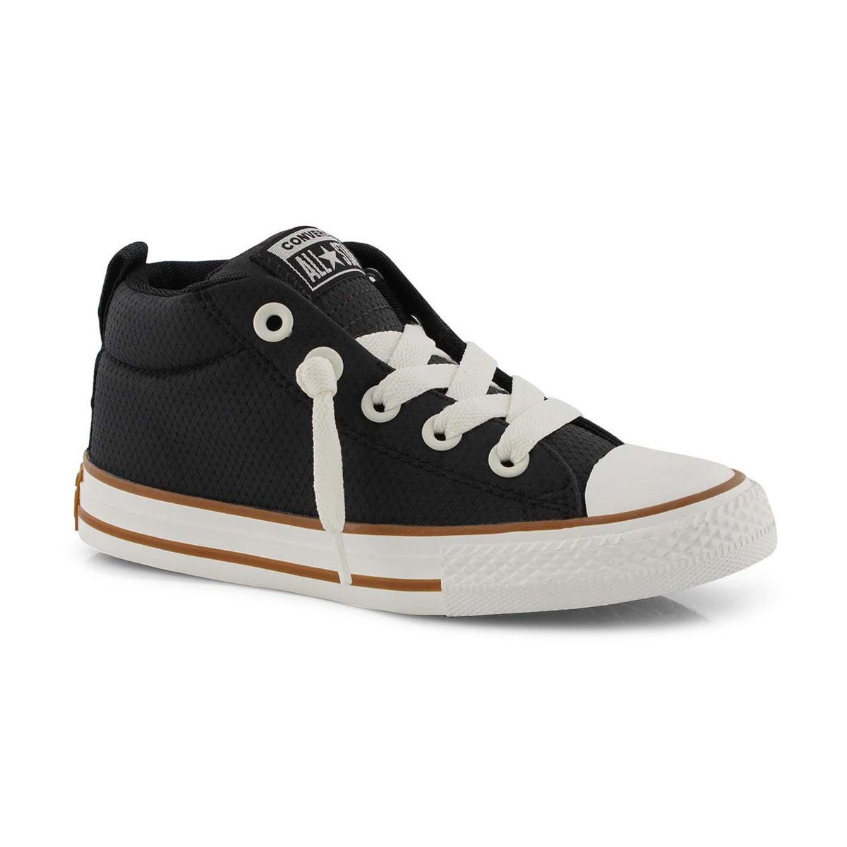 Converse Boys/' Chuck Taylor All Star Street Mid Sneaker