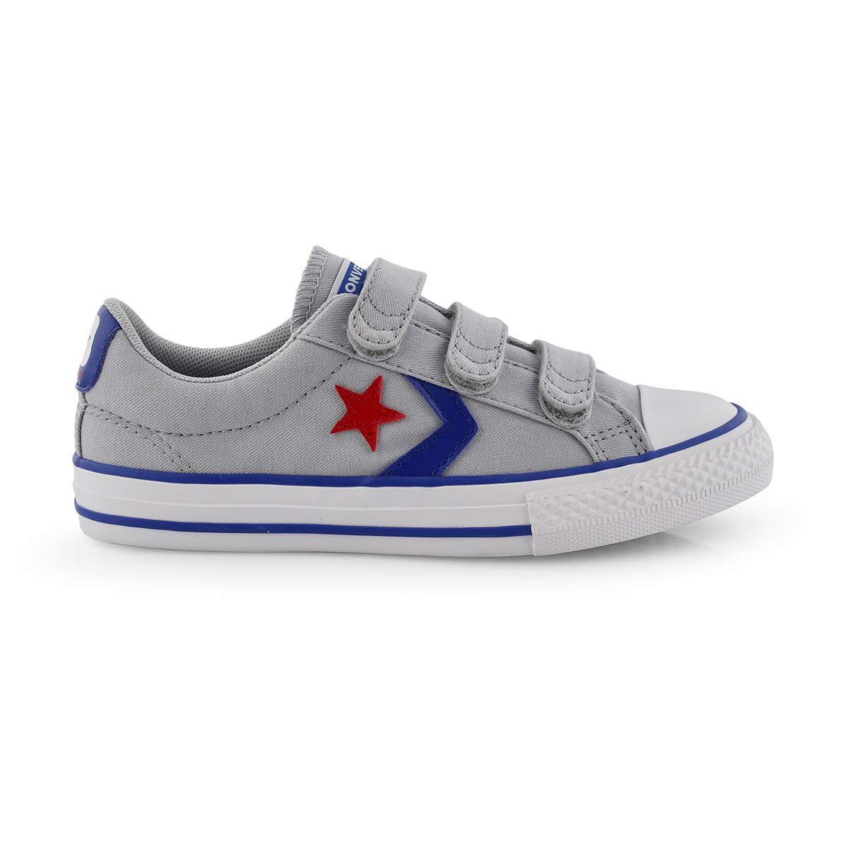 Bys Star Player 3V wolf grey/blu sneaker
