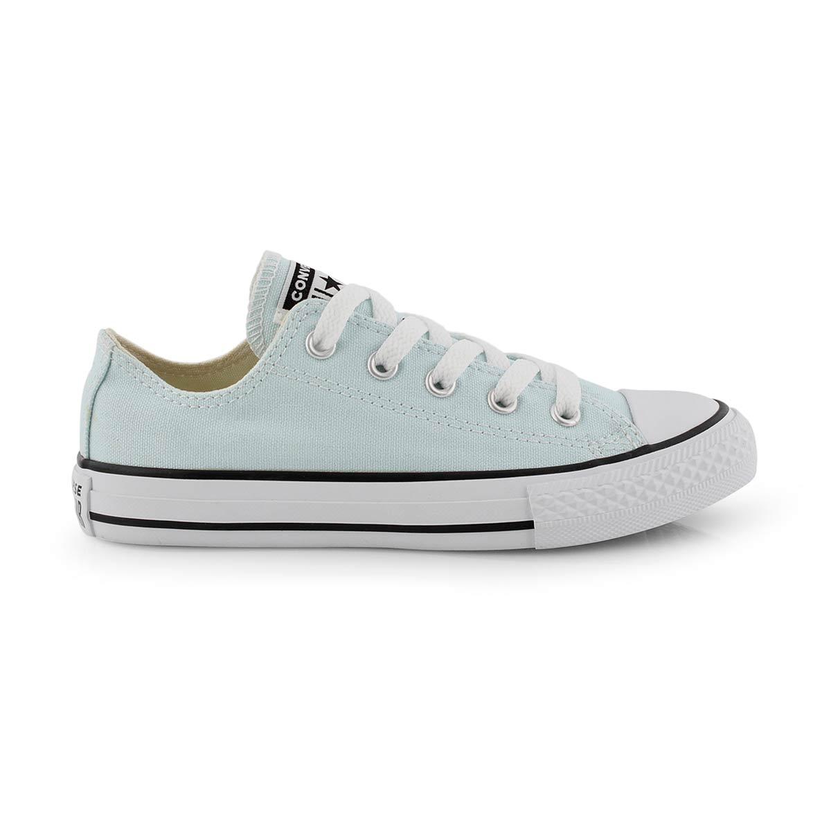 Grls CTAS Seasonal teal/ivory sneaker