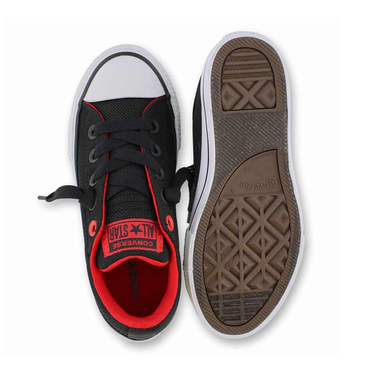 Bys CTAS Street Slip blk/red sneaker
