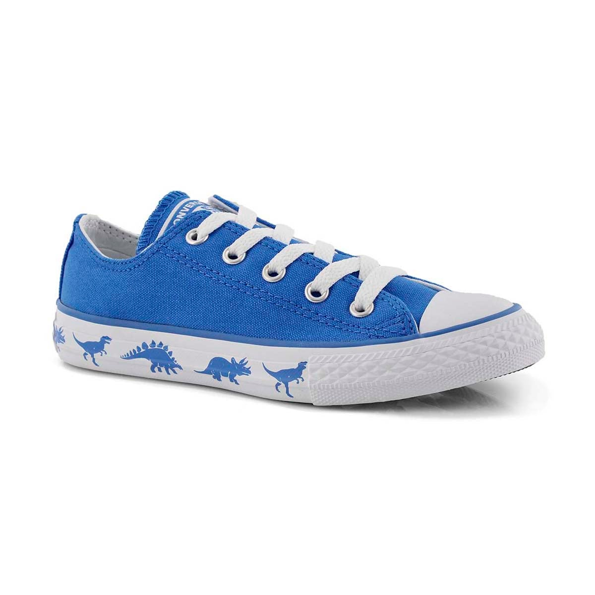 Bys CTAS Dinoverse blue/wht sneaker