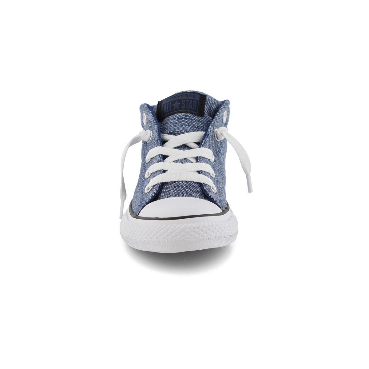 Bys CTAS Street Mid navy/black sneaker
