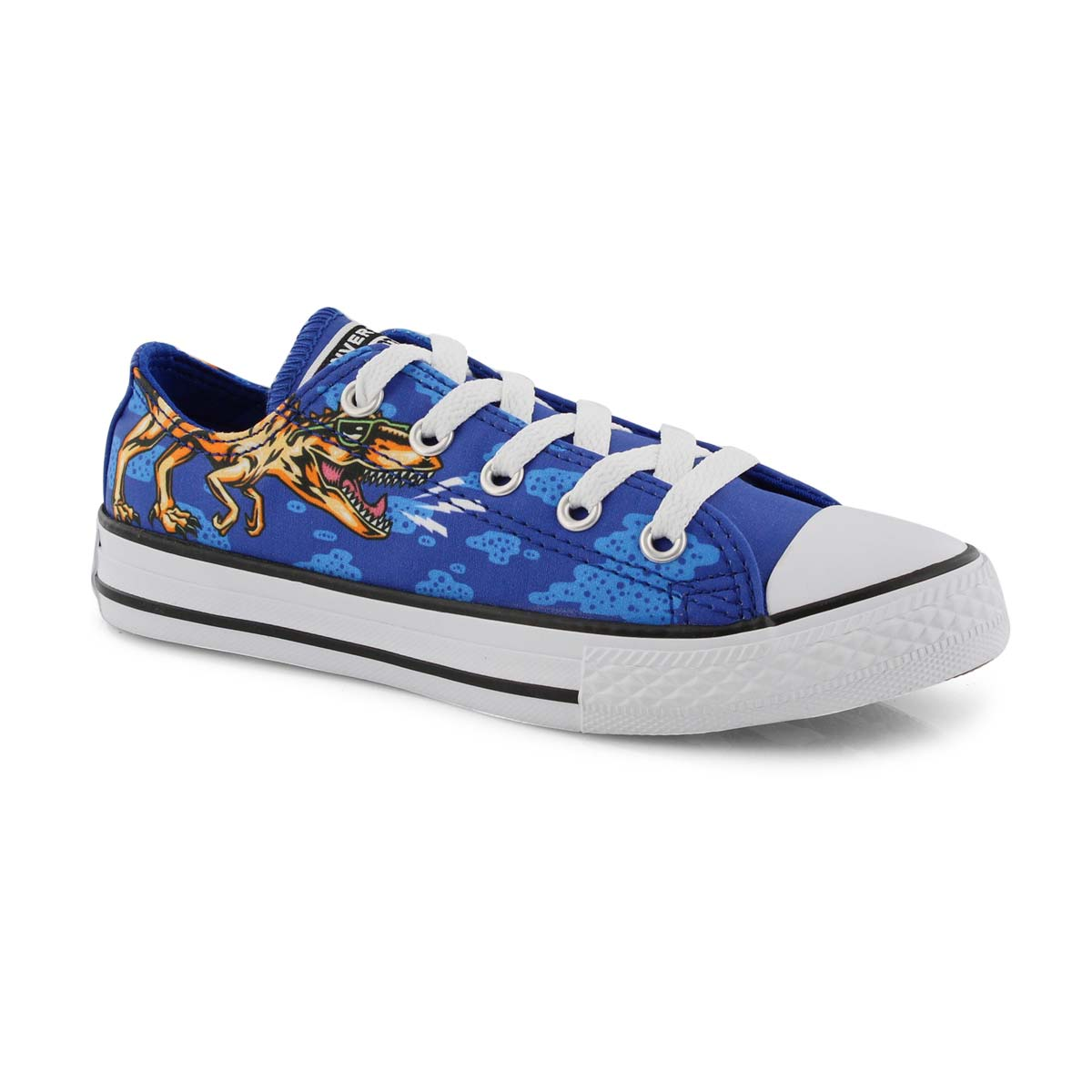 Bys CT AS blue/multi lace up sneaker