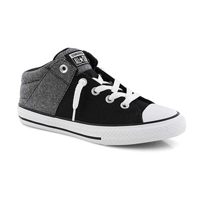 Bys CTAS Axel Street Mid blk/wht sneaker