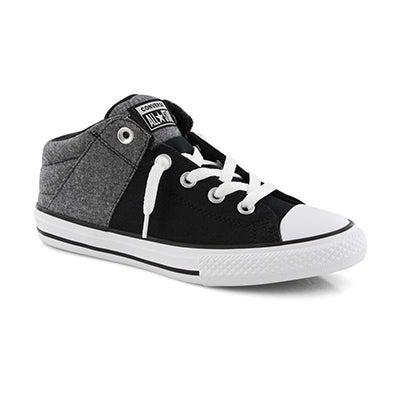 Bys CTAS Axel Street Mid blk/wht sneaker