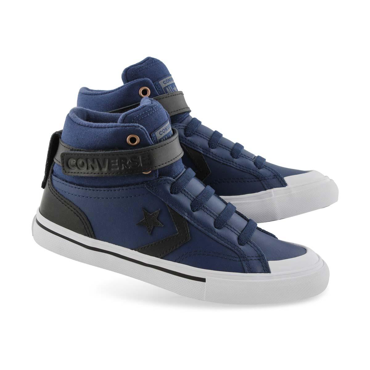Details about Converse Boys' Pro Blaze Strap Martian Hi Sneaker