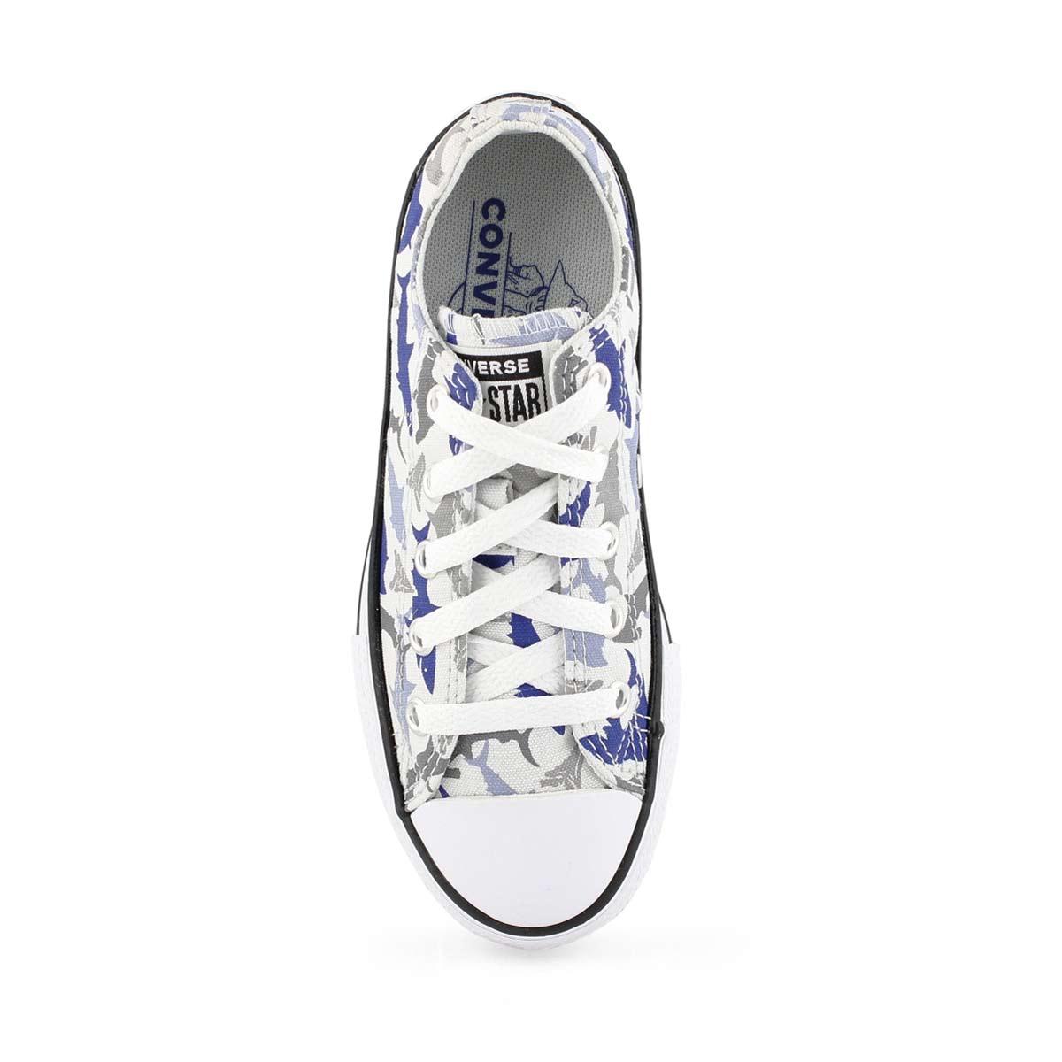 Bys CTAS Shark Bite dust/blue sneaker