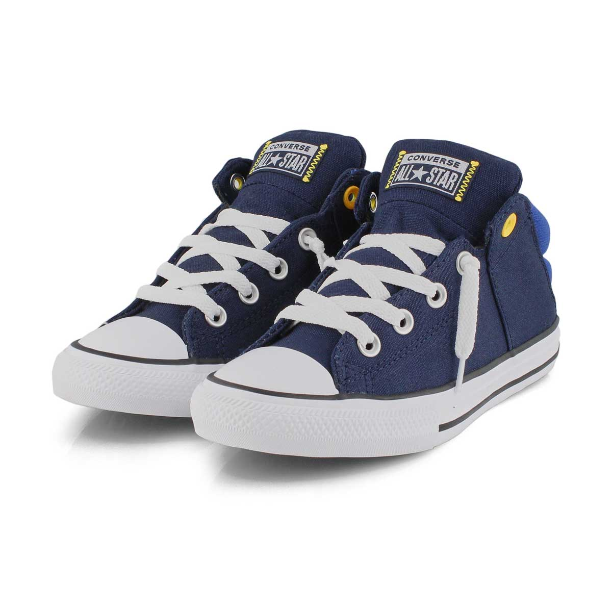 Bys CTAS Axel Mid obsidian/orng sneaker
