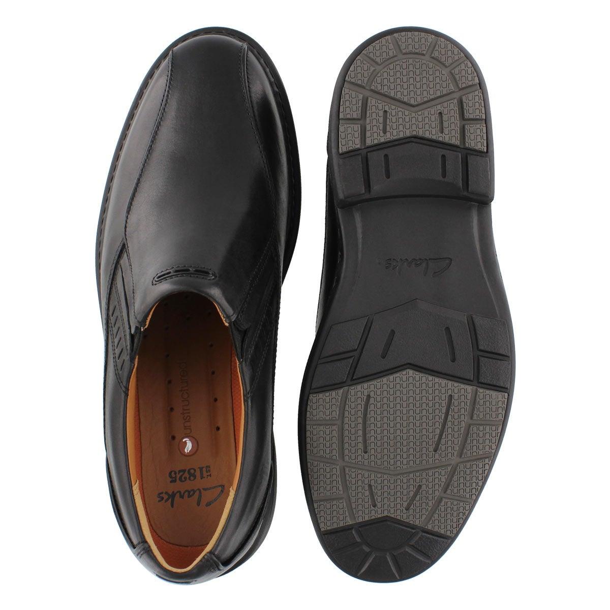 Mns Un.Slip blk comfort slipon dress-WD