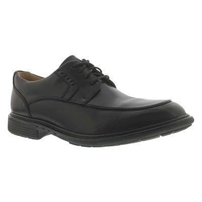 Clarks Men's UN.RAGE black lace up dress shoes - Wide