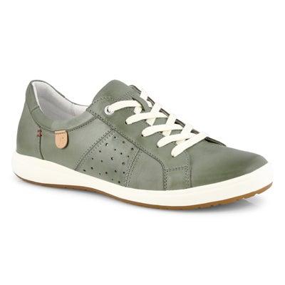 Lds Caren 01 mint lace up sneaker