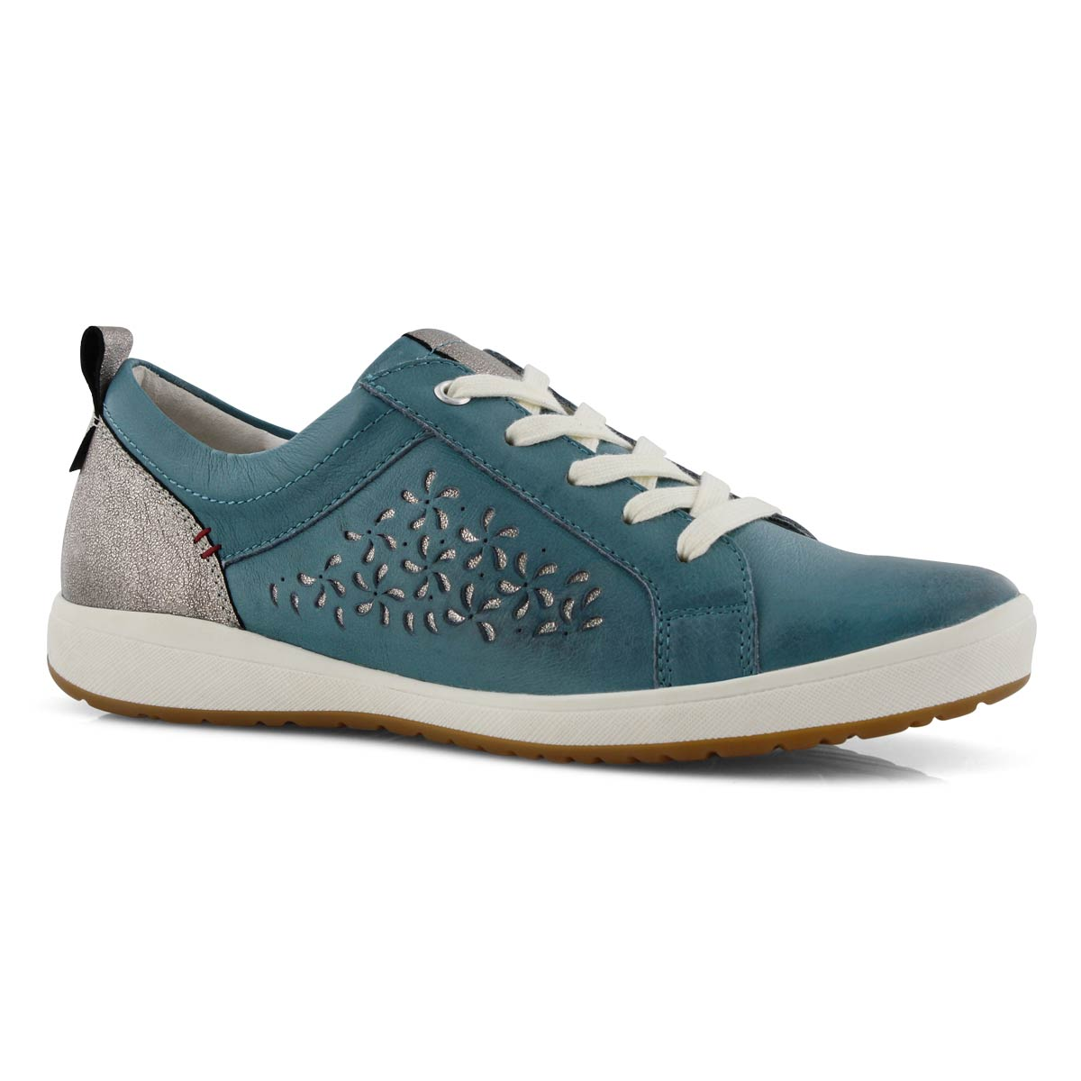 newest a2500 3ab97 Women's CAREN 06 blue lace up sneakers