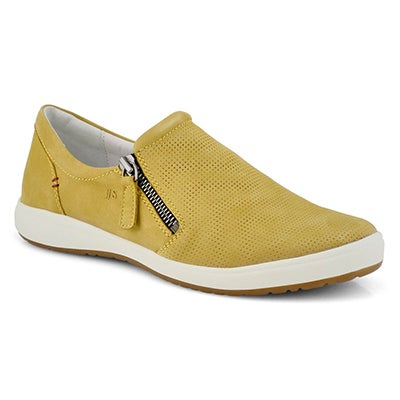 Lds Caren 22 yellow slip on sneaker