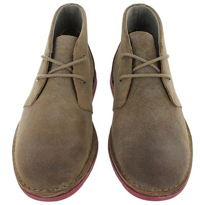 Clarks Men's SANDOVER HI tan casual chukka boot