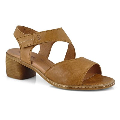 Lds Juna 02 camel dress heel sandal