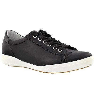 Lds Sina 11 black lace up sneaker