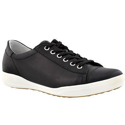 Lds Sina 11 black lace up shoe