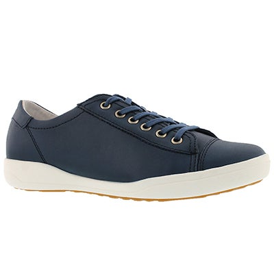 Lds Sina 11 blue lace up sneaker