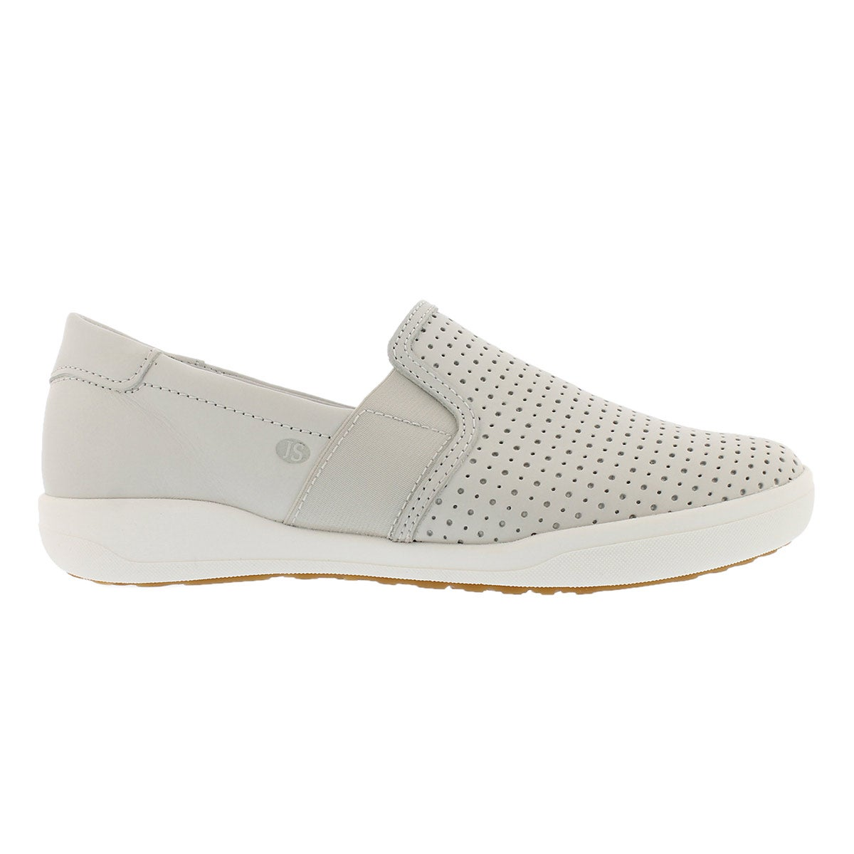 Lds Sina 15 white casual slip on shoe