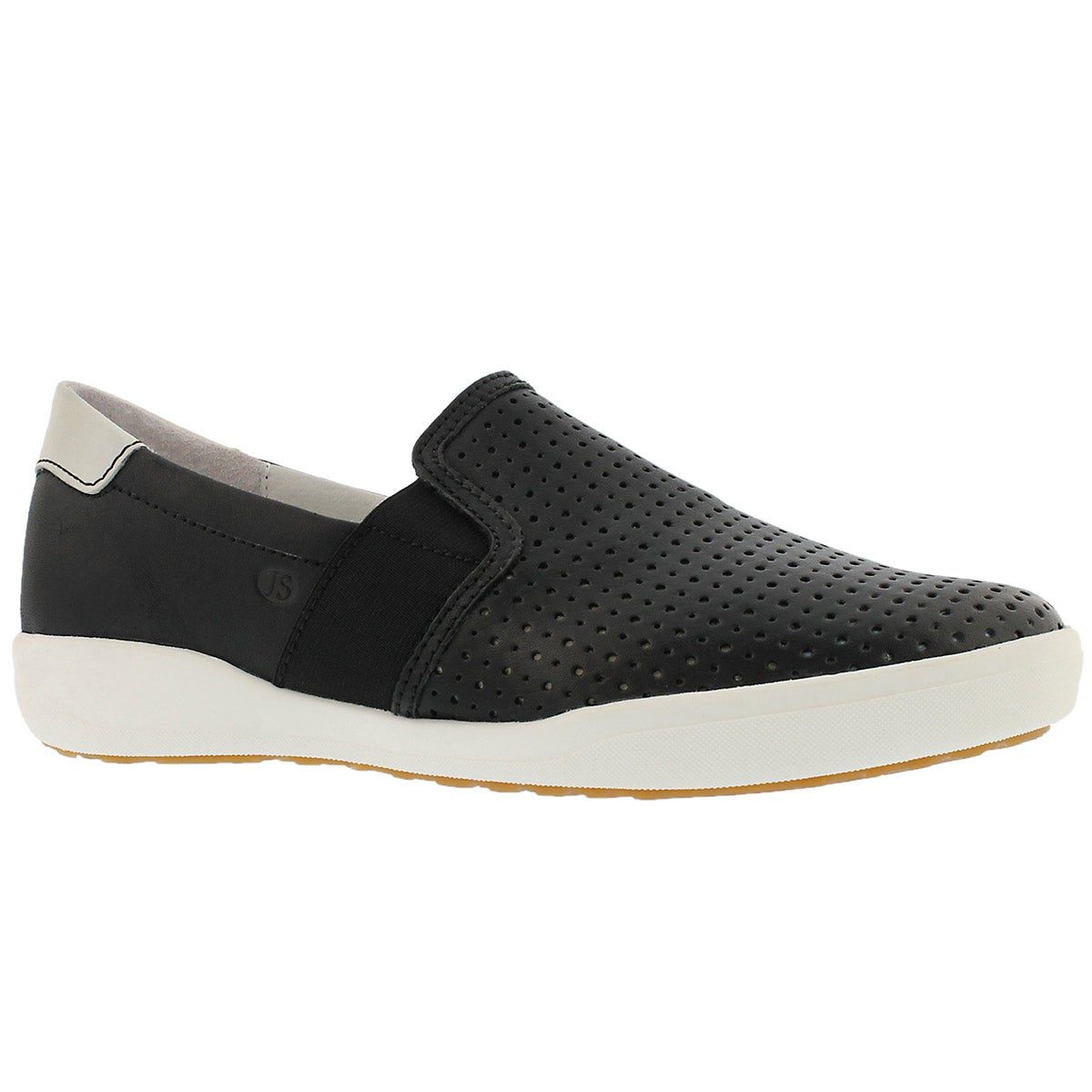 Women's SINA 15 black casual slip on shoes