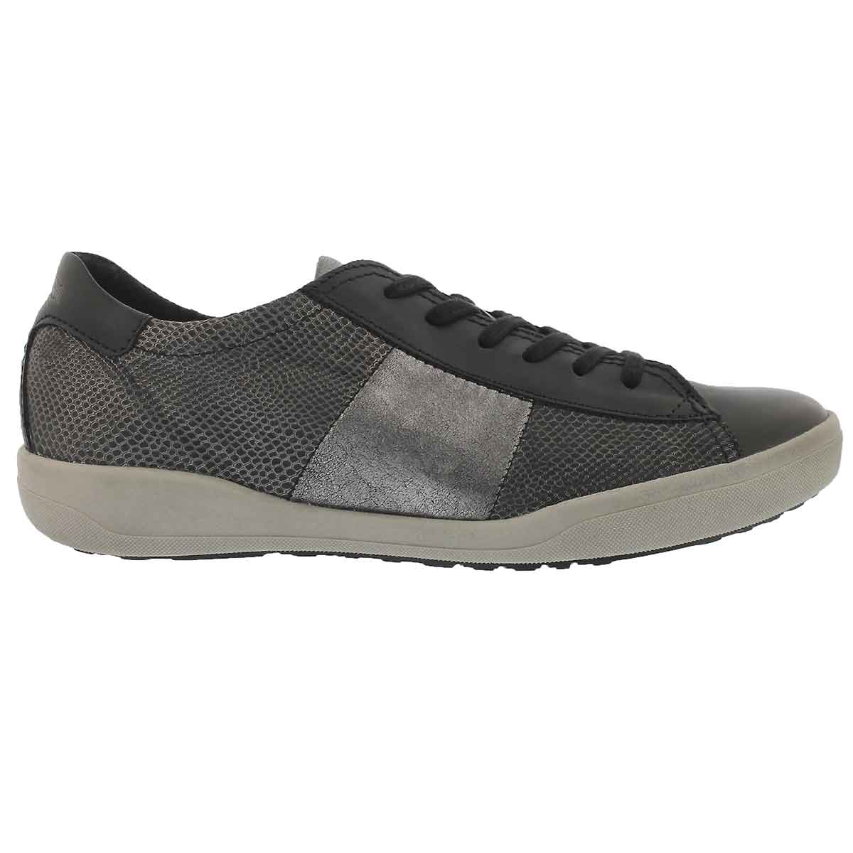 Lds Sina 27 schwarz lace up casual snkr