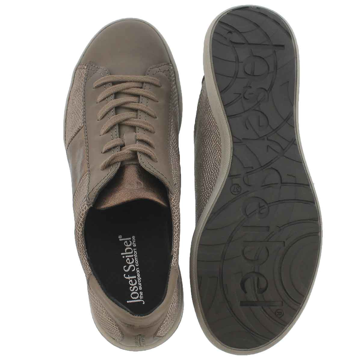 Lds Sina 27 asphalt lace up casual snkr