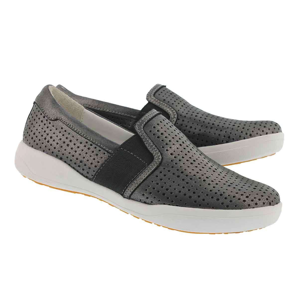 Lds Sina 33 basalt slip on shoe