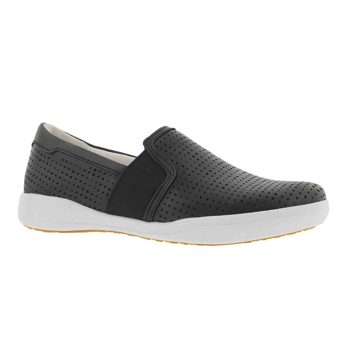 Lds Sina 33 black slip on shoe