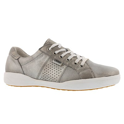Lds Sina 41 platin lace up casual snkr