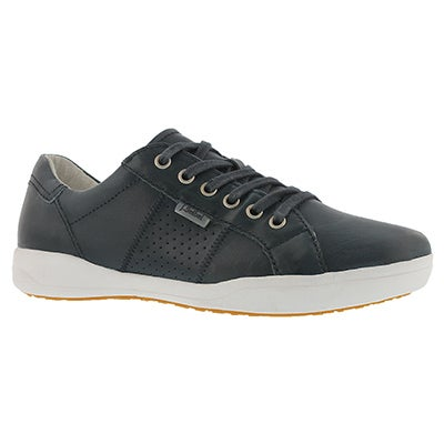 Lds Sina 41 jeans lace up casual snkr