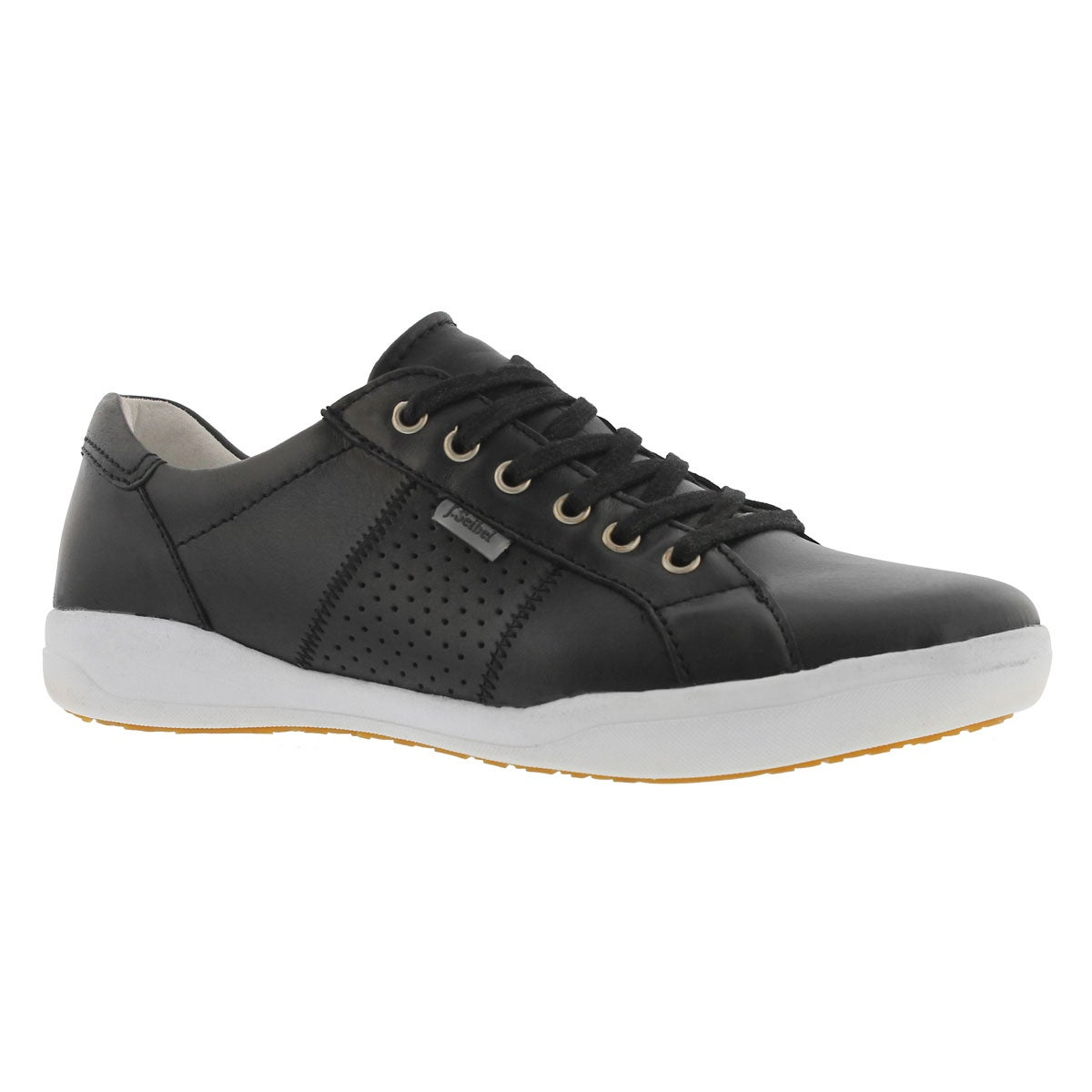 Women's SINA 41 black lace up casual sneaker