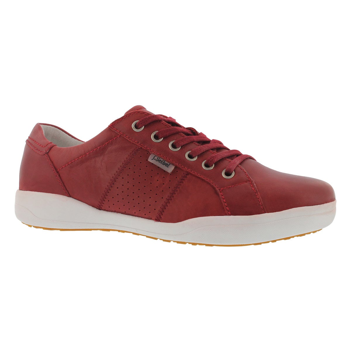 Women's SINA 41 rot lace up casual sneakers