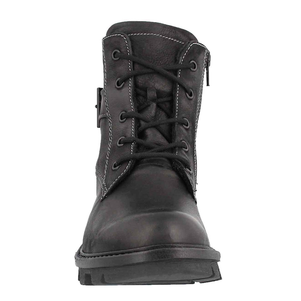 Lds Marilyn 03 schwarz lace up boot