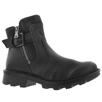 Lds Marilyn 05 schwarz side zip boot