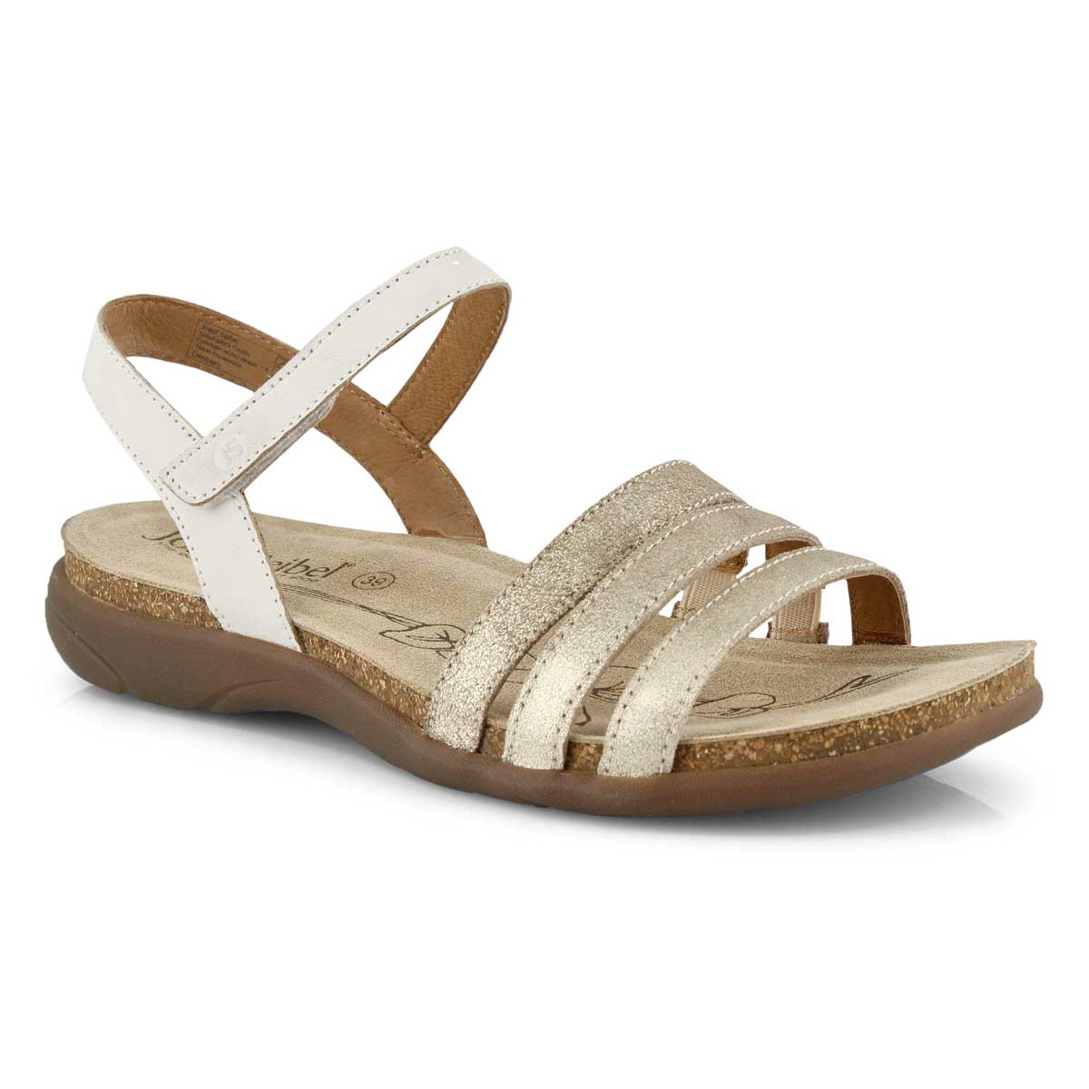 Lds Riley 01 sand casual sandal