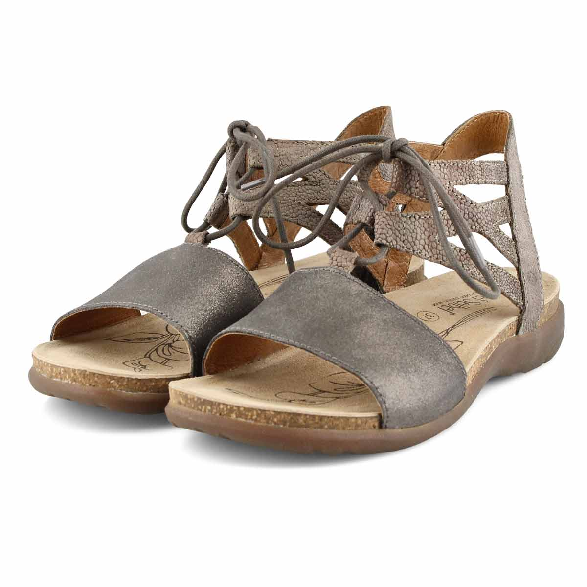 Lds Riley 06 anthracite casual sandal