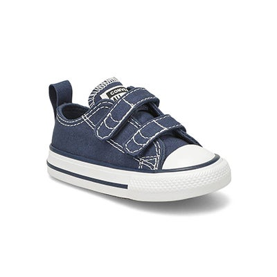 Infs Core V2 Ox navy canvas sneaker