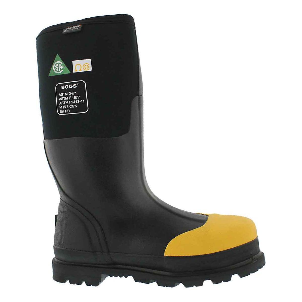 Men's RANCHER ST CSA blk waterproof boots