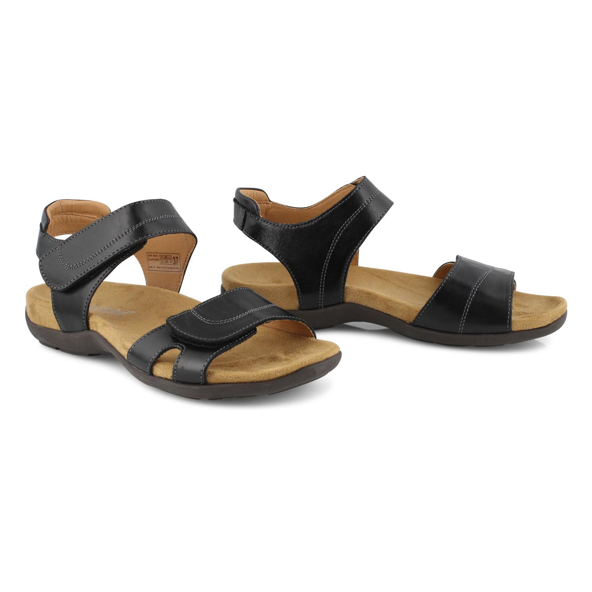 Lds Dalia 01 black casual sandal