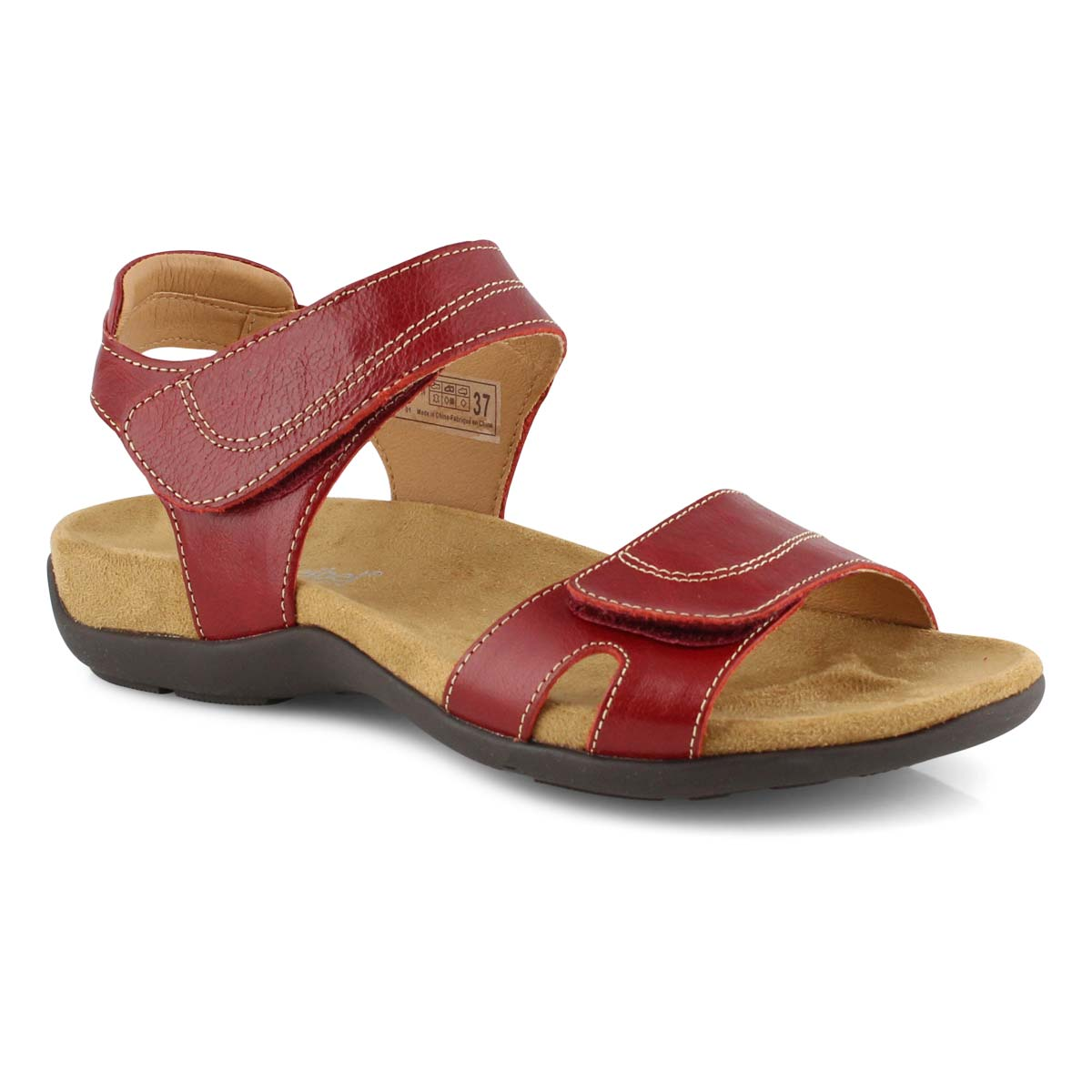 Lds Dalia 01 red casual sandal