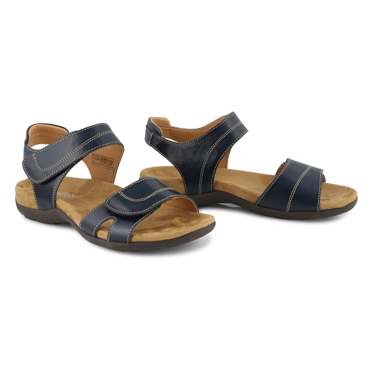Lds Dalia 01 blue casual sandal