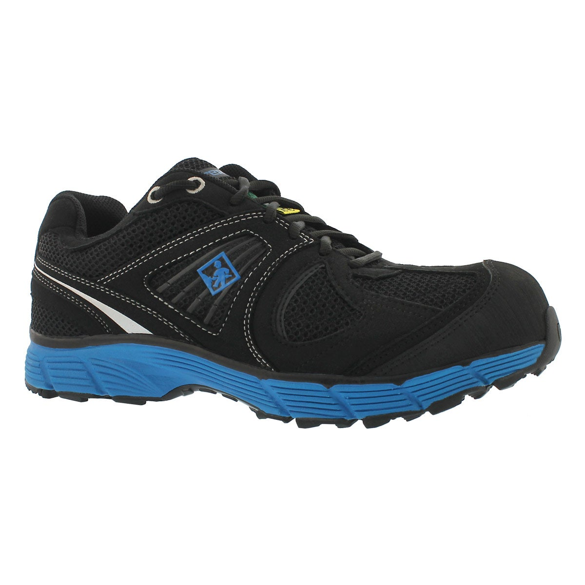 Men's PACER black/blue lace up CSA sneakers