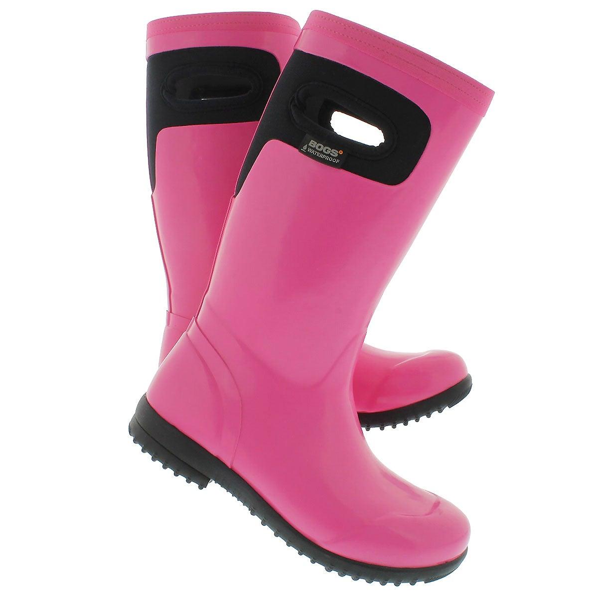 Botte pluie Tacoma Solid, rose, filles
