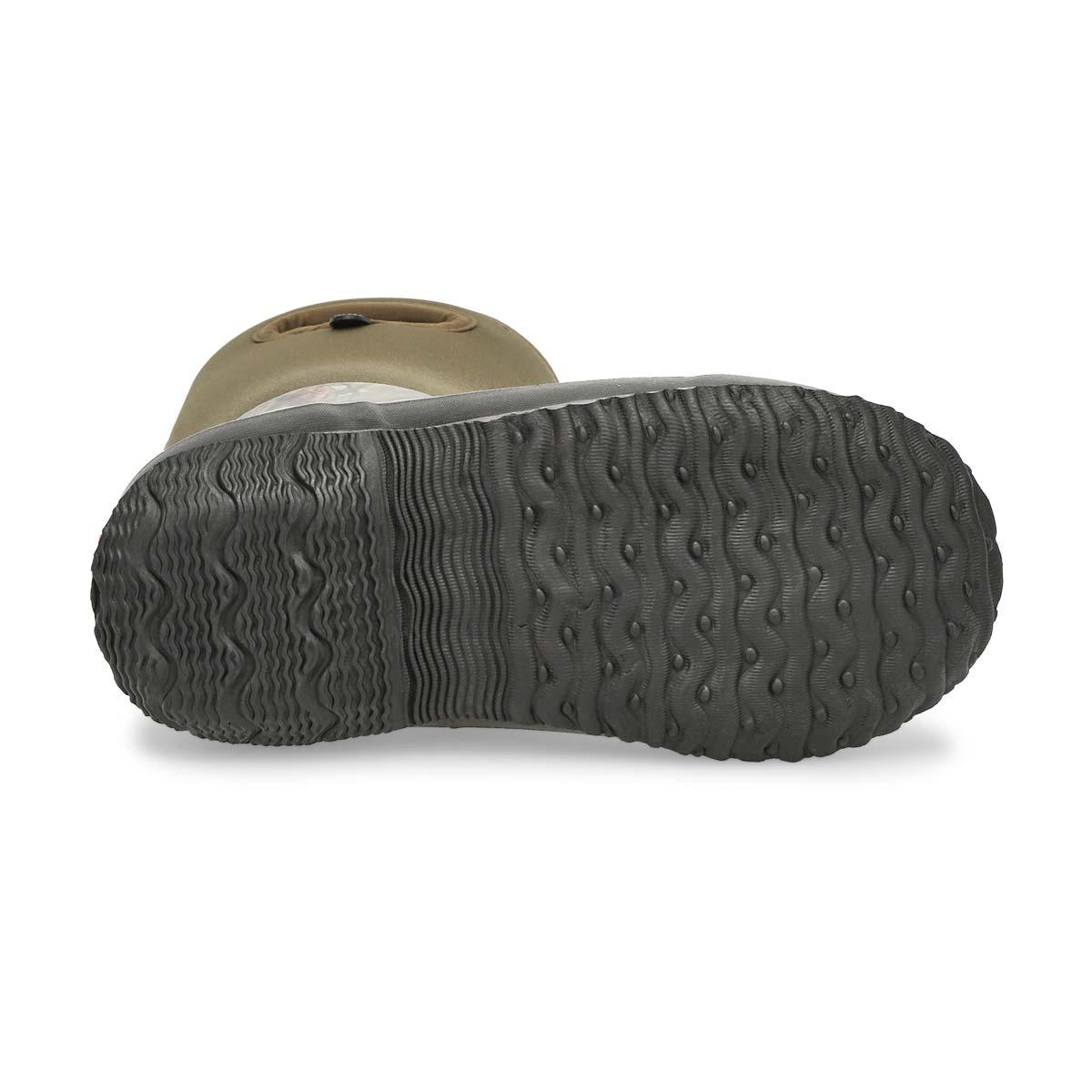 Bys Class Mossy Oak tall grn winter boot