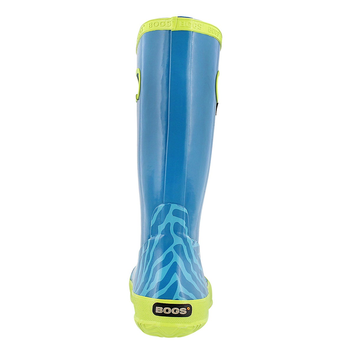Gls Rainboot Zebra aqua rain boot