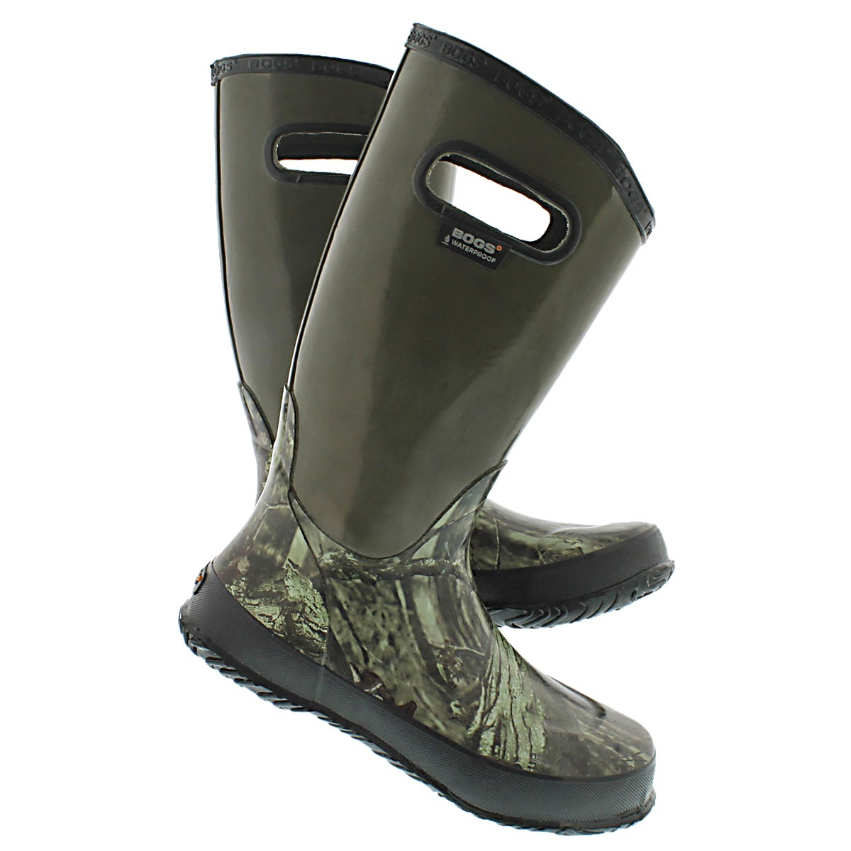 Bys Hunting mossy rain boot